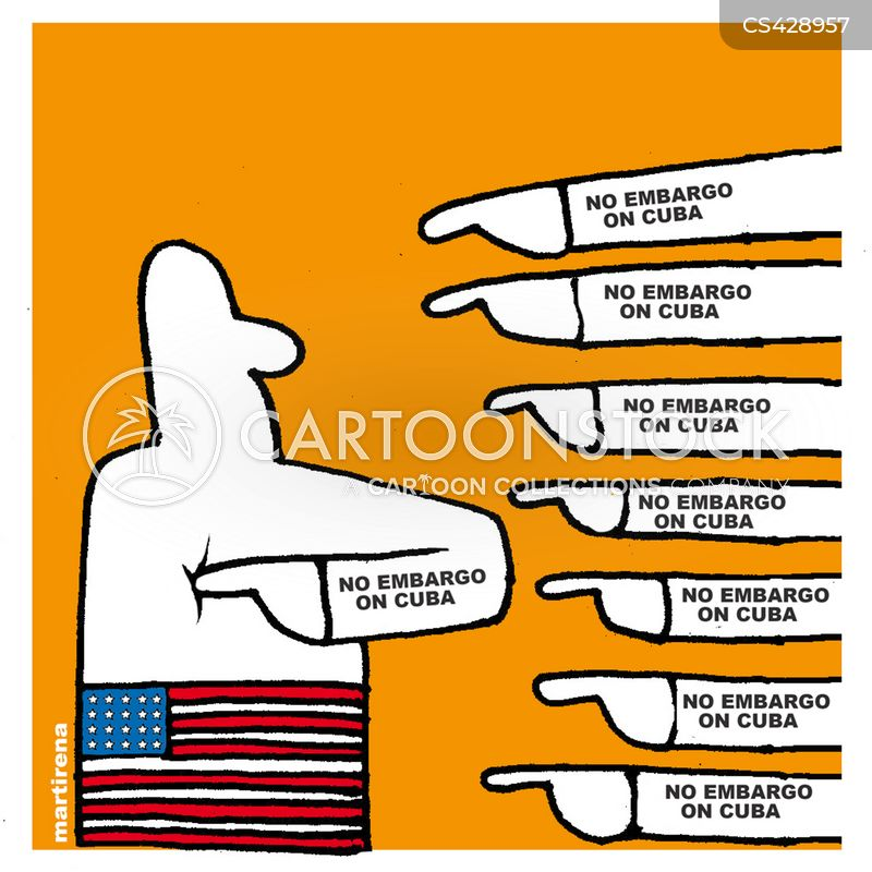 american-cuban relations cartoon