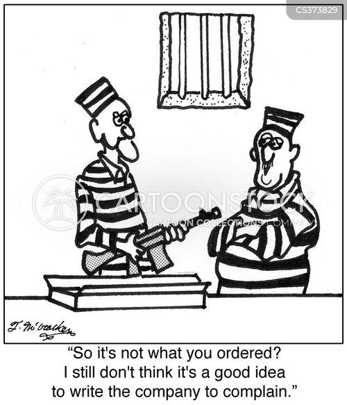 mail order goods cartoon