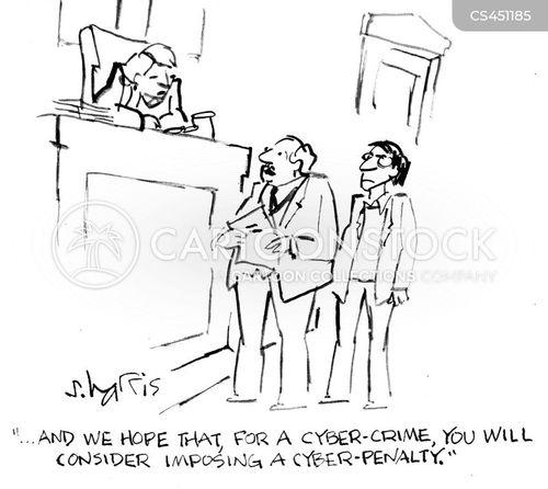 criminal trials cartoon
