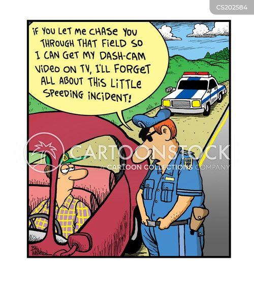 cop show cartoon