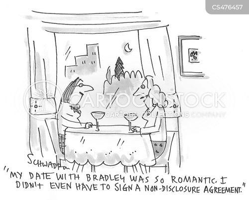 nondisclosure agreements cartoon