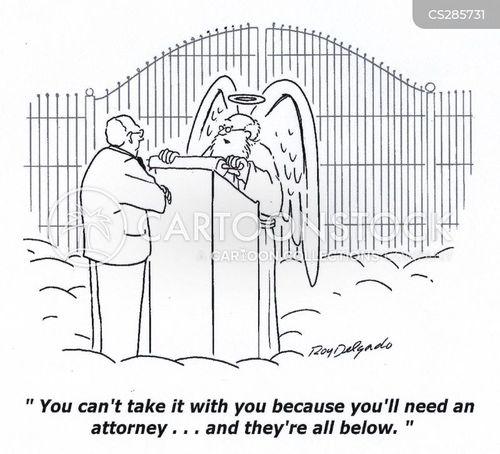 gate of heaven cartoon