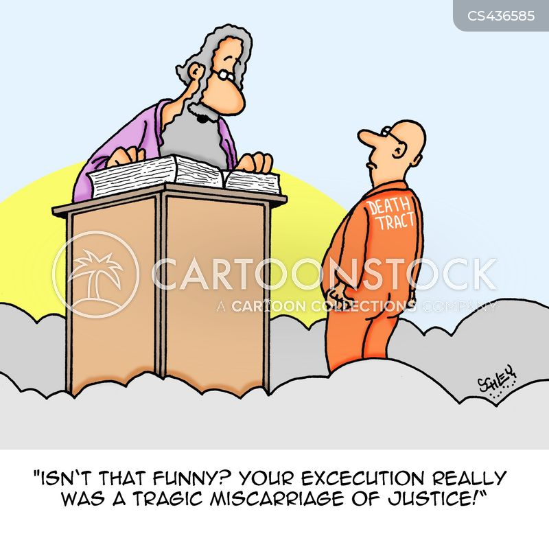miscarriage of justice cartoon