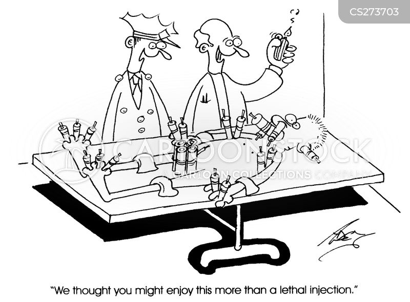 Lethal Injections cartoons, Lethal Injections cartoon, funny, Lethal Injections picture, Lethal Injections pictures, Lethal Injections image, Lethal Injections images, Lethal Injections illustration, Lethal Injections illustrations