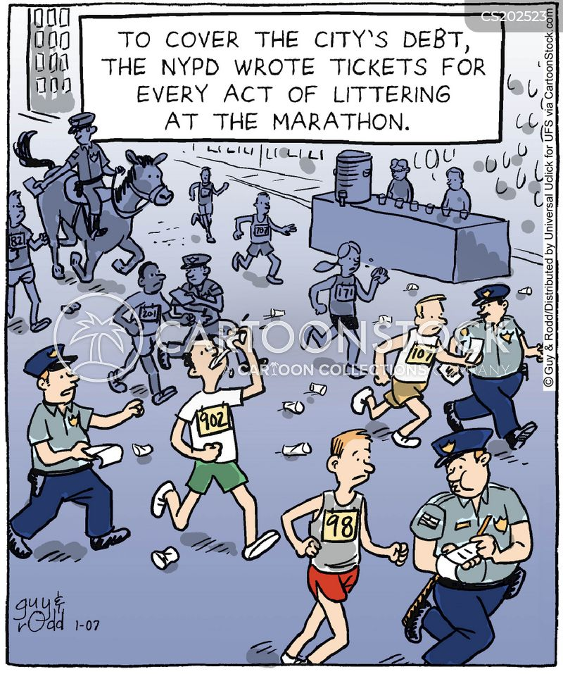litterer cartoon