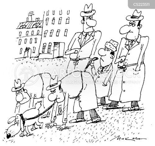 blood hound cartoon