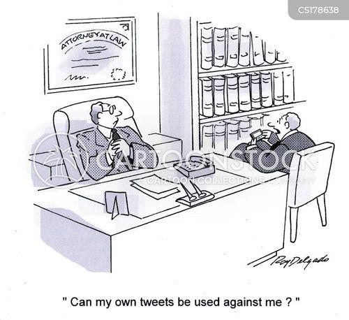 micro blogging cartoon
