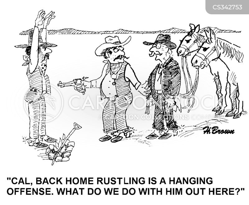 rustling cartoon
