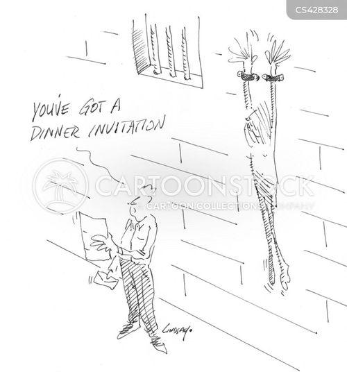 dinner invitation cartoon