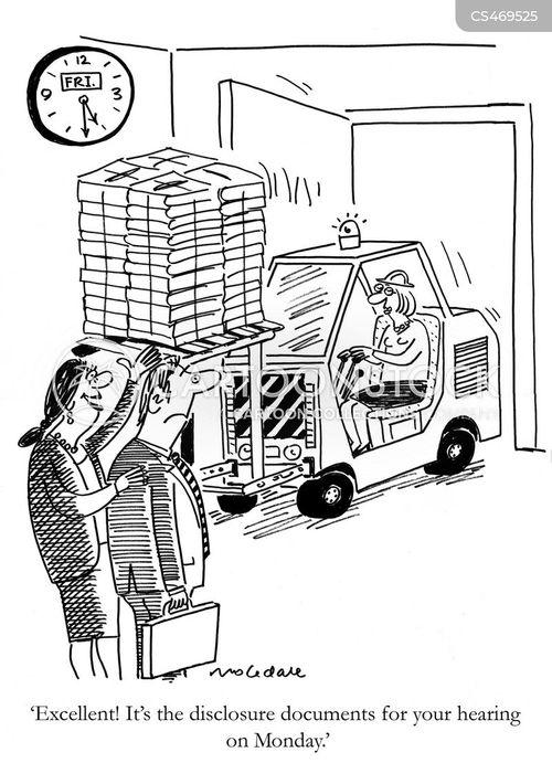forklifts cartoon