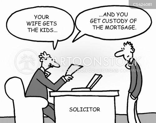 custody battles cartoon