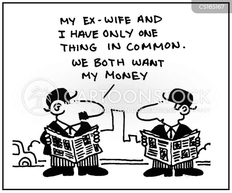 ex wife cartoon