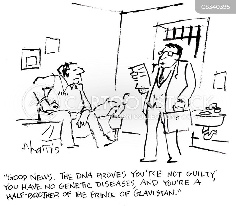 Image result for genetic testing cartoon