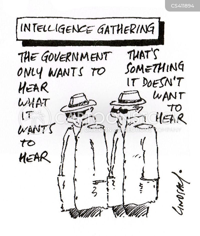 Intelligence Agents Cartoons and Comics - funny pictures from ...