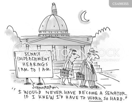 senate hearing cartoon