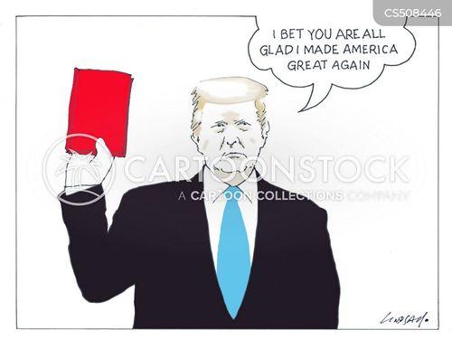 national crisis cartoon