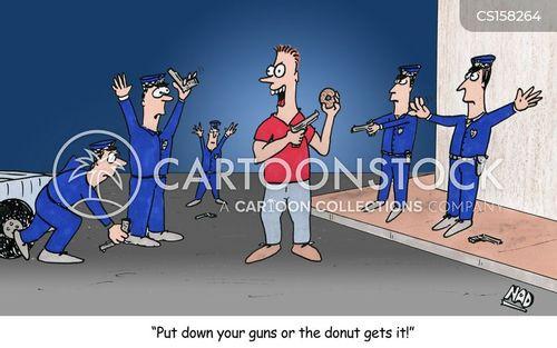 taking hostages cartoon