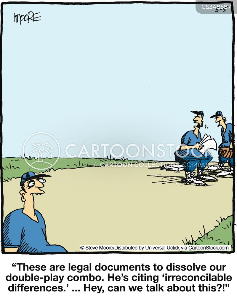 irreconcilable difference cartoon