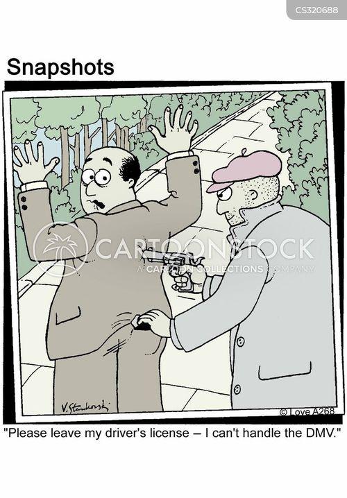 licenses cartoon
