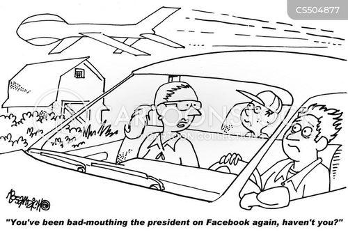 bad mouthing cartoon