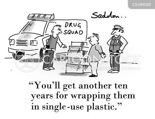 drug squads cartoon