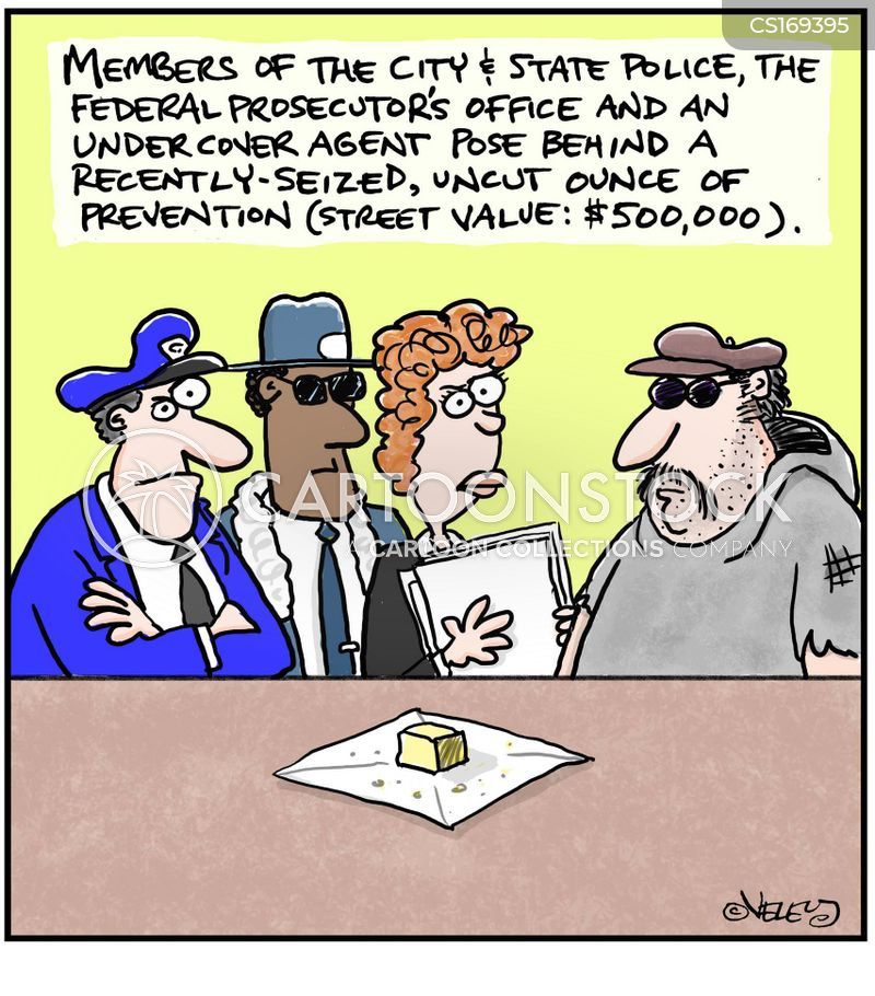 drug trafficking cartoon