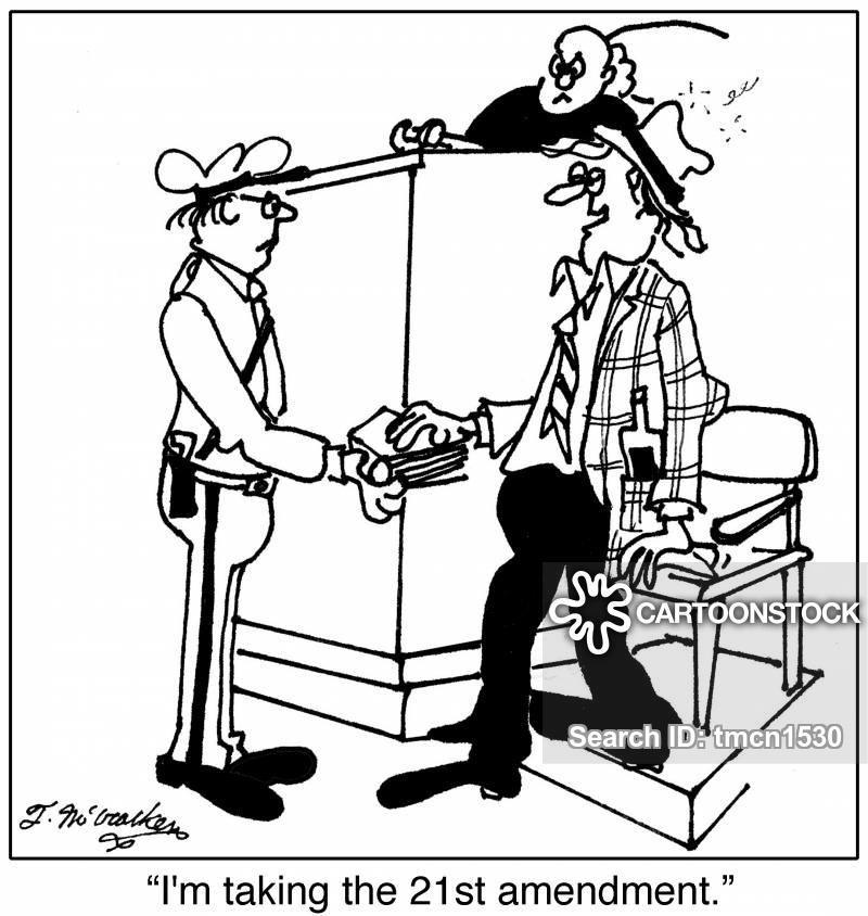 testifying cartoon
