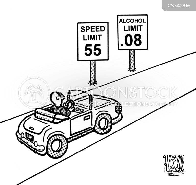 driving while intoxicated cartoon