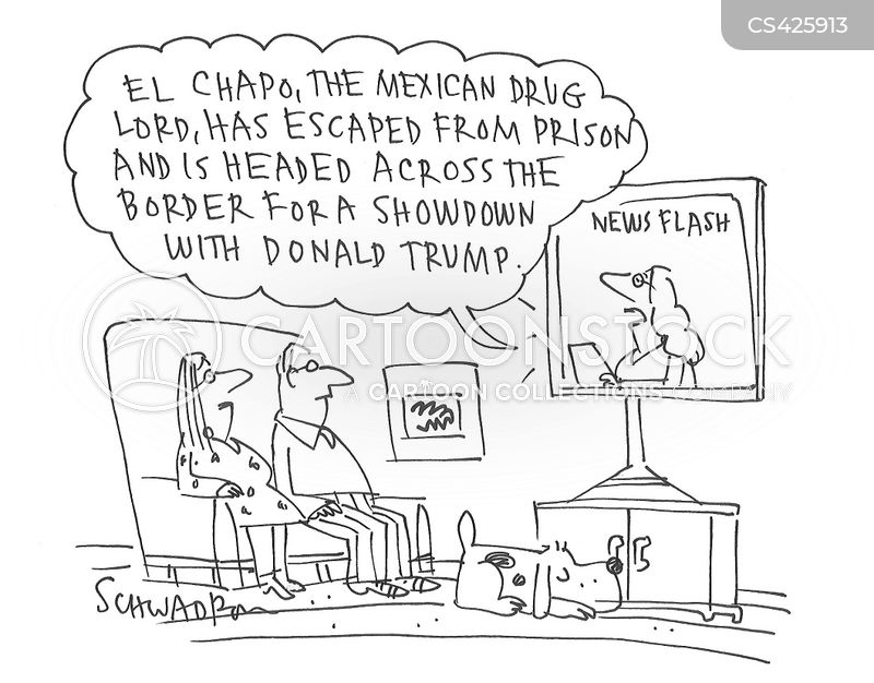 drug cartel cartoon