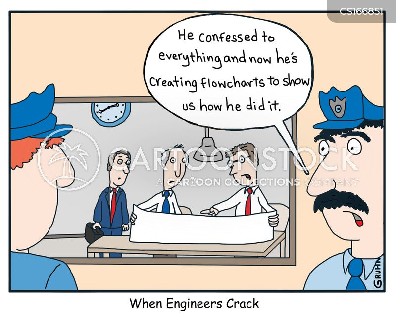 engineer cartoon