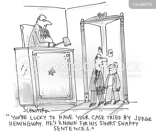 literary review cartoon