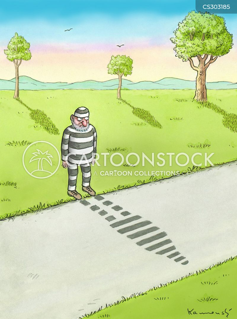 prison stripe cartoon