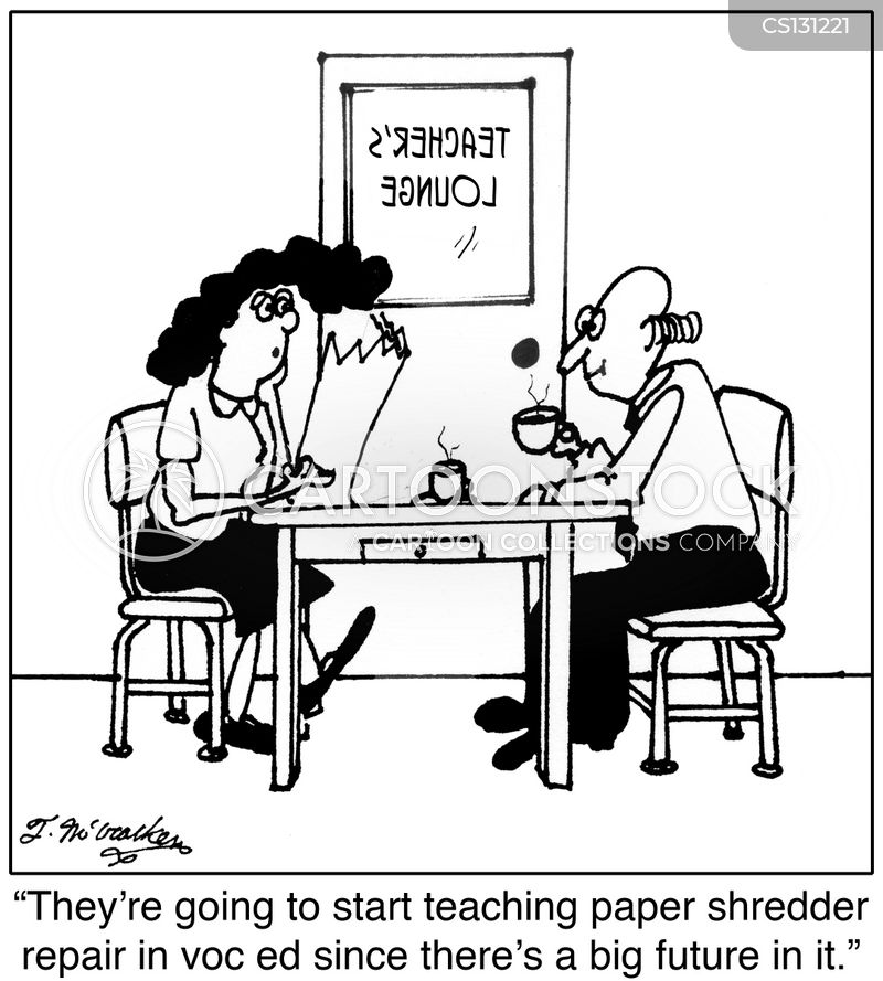 vocational education cartoon