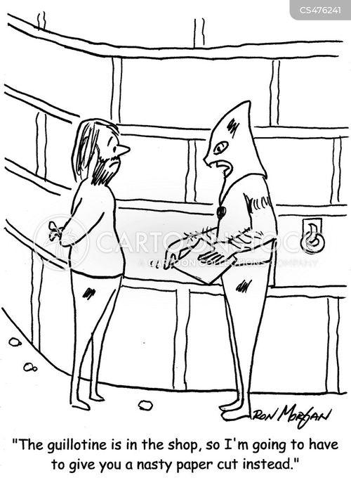 papercut cartoon