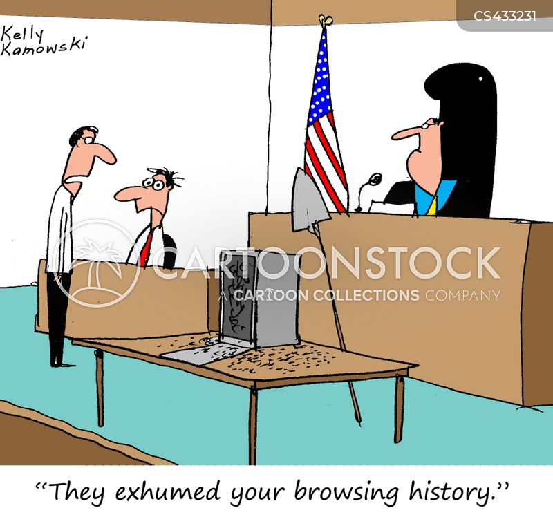 exhumed cartoon
