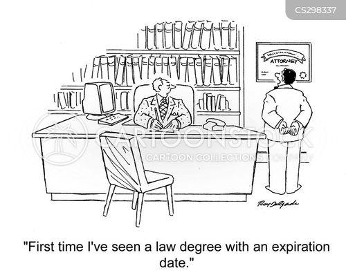 law students cartoon
