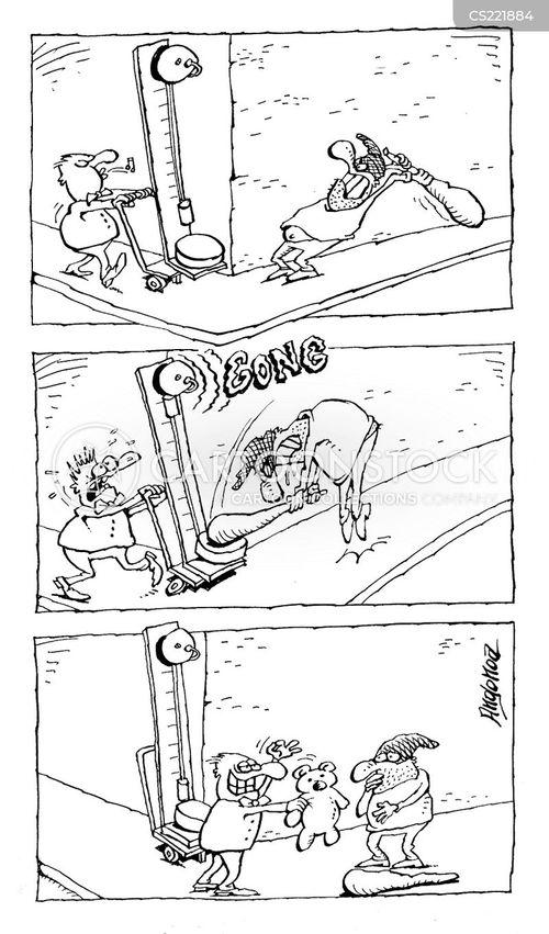 fairground game cartoon