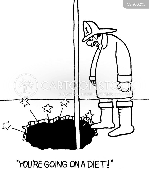 fire pole cartoon