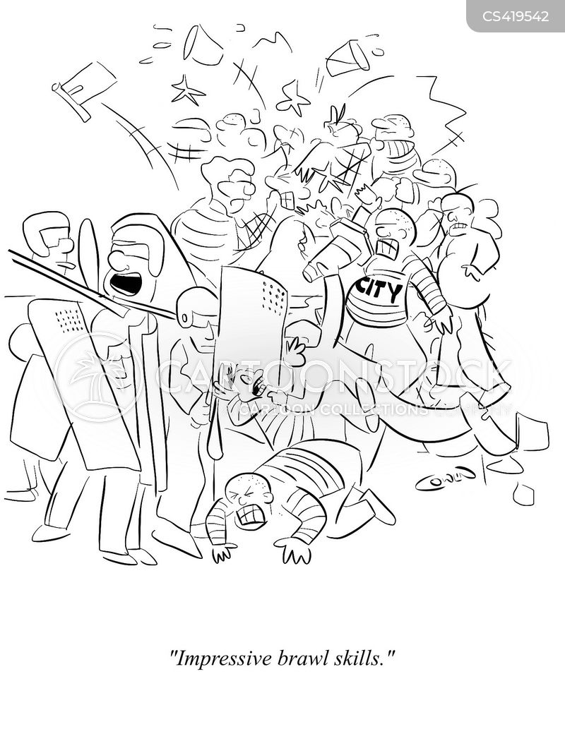 rioted cartoon