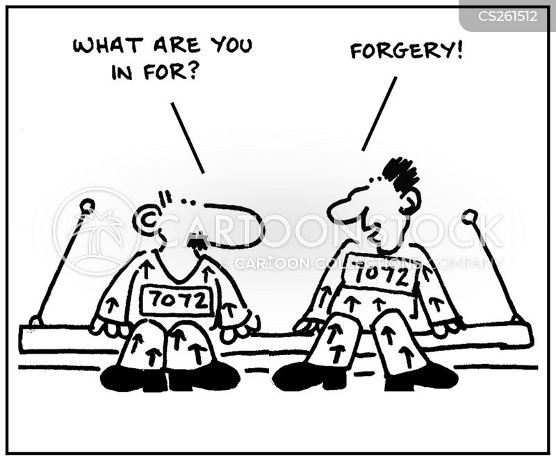 forger cartoon