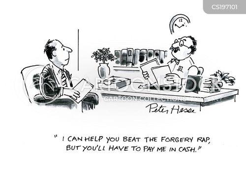 forgeries cartoon