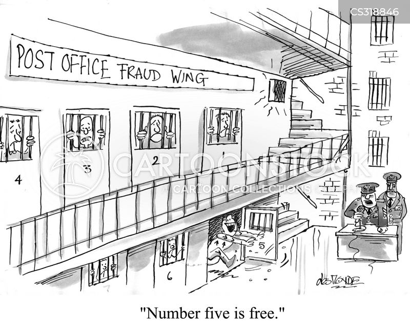 Post Office Fraud Cartoons And Comics Funny Pictures From Cartoonstock
