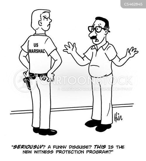 witness protection service cartoon
