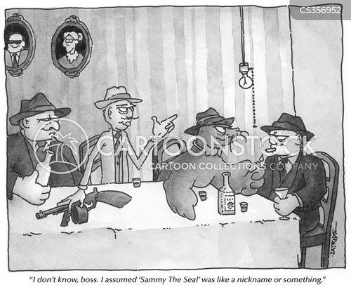 sealions cartoon