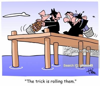 Mafia Hit Cartoons and Comics - funny pictures from CartoonStock