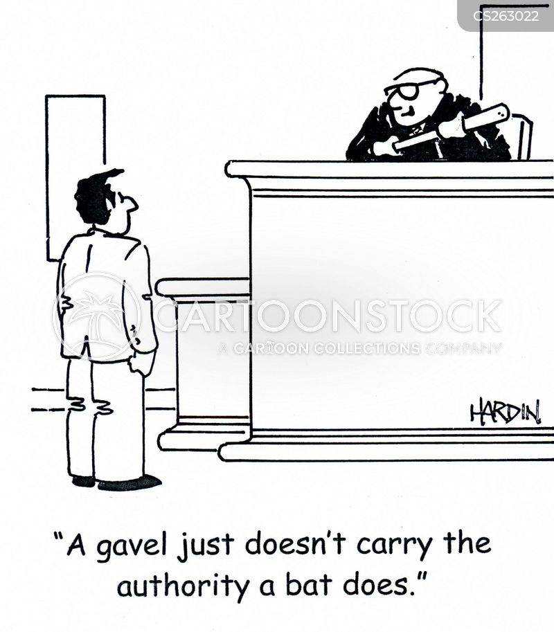 gavels cartoon