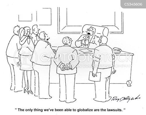 globalised cartoon