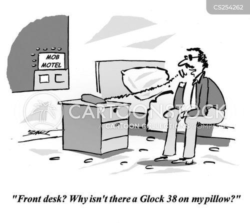 Front Desk Cartoon 8 Of 11
