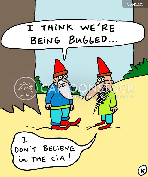 bugged cartoon