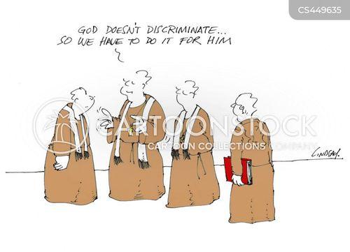 organized religion cartoon